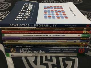 HUMSS Track 100 each book