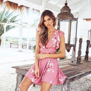 POPULAR 💫 Take It Slow Floral Dress