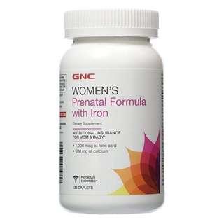🚚 【GNC健安喜】孕婦專用維他命 婦寶樂食品錠 120顆