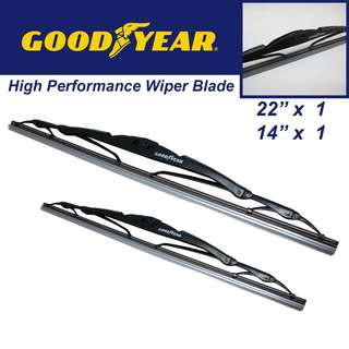 "Goodyear High Performance Wiper Blade 22""/14"" Set"