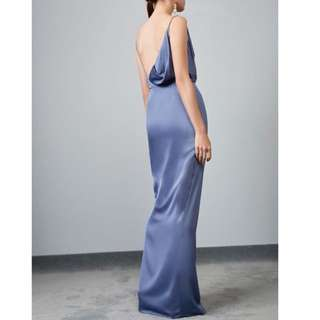 Keepsake The Label This Moment Gown In Dusty Blue