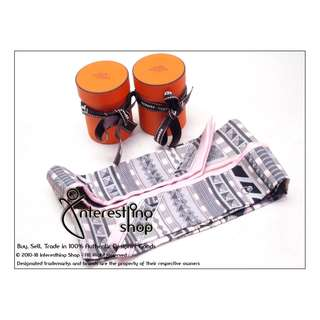 """# KO08. Authentic Hermes Twilly """" Pink Trimll """" (1 Pair) (NON-NEG)"""