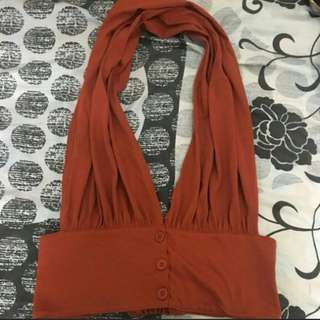 Haltered Top S-M (also bought it here..photo credit from the seller