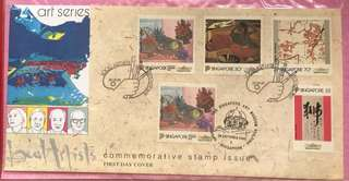 1995 First Day Cover - Singapore Art Series