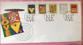 1995 First Day Cover - Singapore Love Series