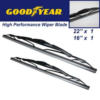 "Goodyear High Performance  Wiper Blade 22""/16"" Set"