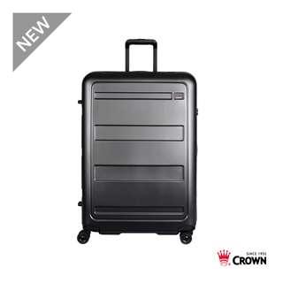 【Chu Mai】CROWN C-F1783 拉鍊拉桿箱 行李箱 旅行箱 商務箱 旅遊箱 旅遊必備 29吋旅行箱-藏青色
