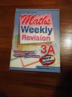 Primary 3 Weekly Revision 3A