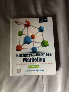 MKTG 1271 B2B Marketing RMIT