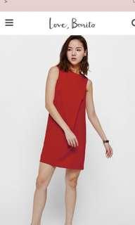 Mejika foldover dress