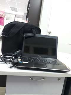 ASUS LAPTOP MODEL X44H WITH BAG AND ADAPTER