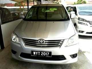 Toyota Innova 2.0E (A) New Facelift