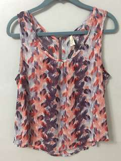 'Leaves' loose top