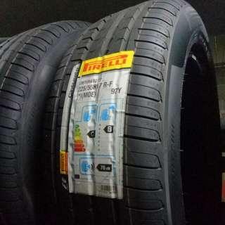 Brand New Pirelli Cinturato P7 RSC MOE Runflat 225/55/17
