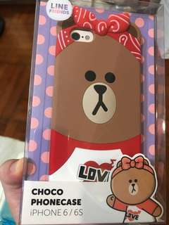 LINE Friends 💯 New iPhone 6 /6S📱 phone Case