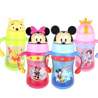 Kids Toddler Water Bottle Learning Cup BPA-Free 300ml
