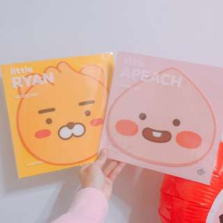 Kakao Ryan Apeach mousepad