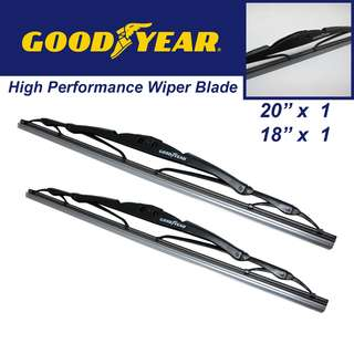 "Goodyear High Performance Wiper Blade 20""/18"" Set"