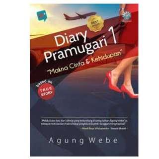 Ebook Diary Pramugari 1 - Makna Cinta & Kehidupan - Agung Webe