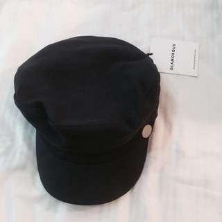 BNWT asos navy blue glamorous baker boy hat cap authentic