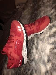 Red ASICS