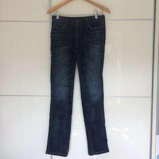 Levi's women straight leg jeans 👖中腰直腳牛仔褲
