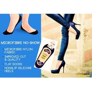BNWT Citrusox Microfibre Nonslip Silicone Socks