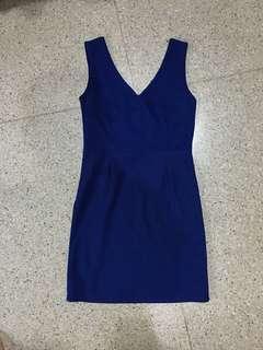 Body press Dress biru