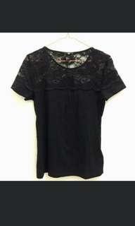 HnM lace top black