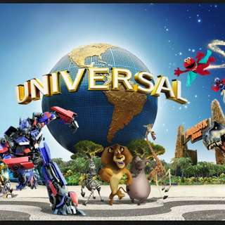 $62.50 CHEAP ADULT TICKET UNIVERSAL STUDIO SINGAPORE