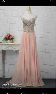 Evening gowns and bridesmaids dresses