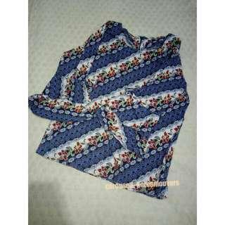 Blouse Batik - Preloved