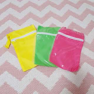 Waterproof wet bags for kids (price is for all 3)