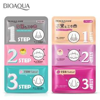 💄 Bioaqua Black Head Remover 3-Step Kit