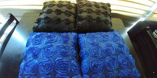 Cushions with covers