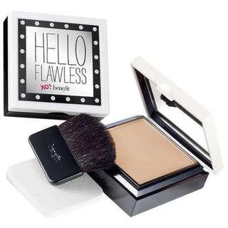 🆕 Benefit Hello Flawless Custom Powder Foundation SPF15 (7g) - Petal Never Settle