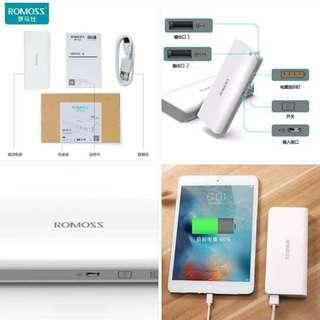 Romoss Sense4 powerbank 10400mah