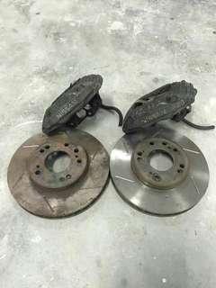Nissan brake kit