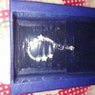 Swarovski key ring