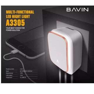 Original Bavin Touch Night Light Charger Set