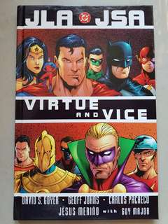 JLA/JSA:Virtue and Vice