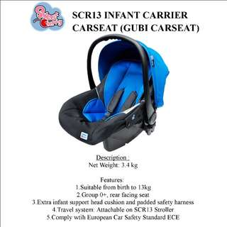 Baby Car Seat SCR13 Sweet Cherry