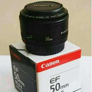 Jual Lensa Canon EF 50mm f/1.8 STM