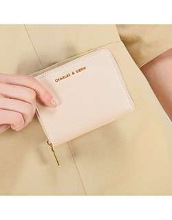URGENT charles and keith ivory square wallet