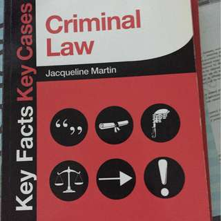 Criminal law jacqueline martin
