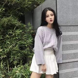 Knitted Oversized Pullover