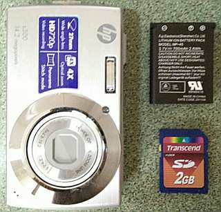 HP s300 Digital Camera with FREE SD Card and Installer