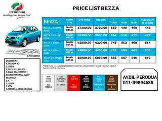 Perodua Bezza 1.3 Primium X