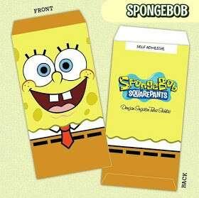Sampul Duit Raya 2018 Spongebob