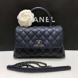 Authentic Chanel Small Coco Handle